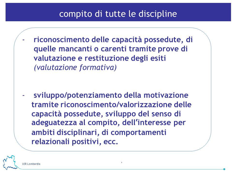 compito di tutte le discipline