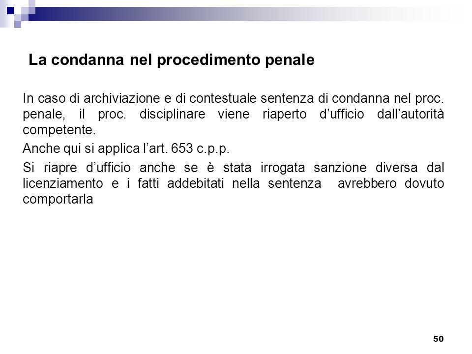 La condanna nel procedimento penale