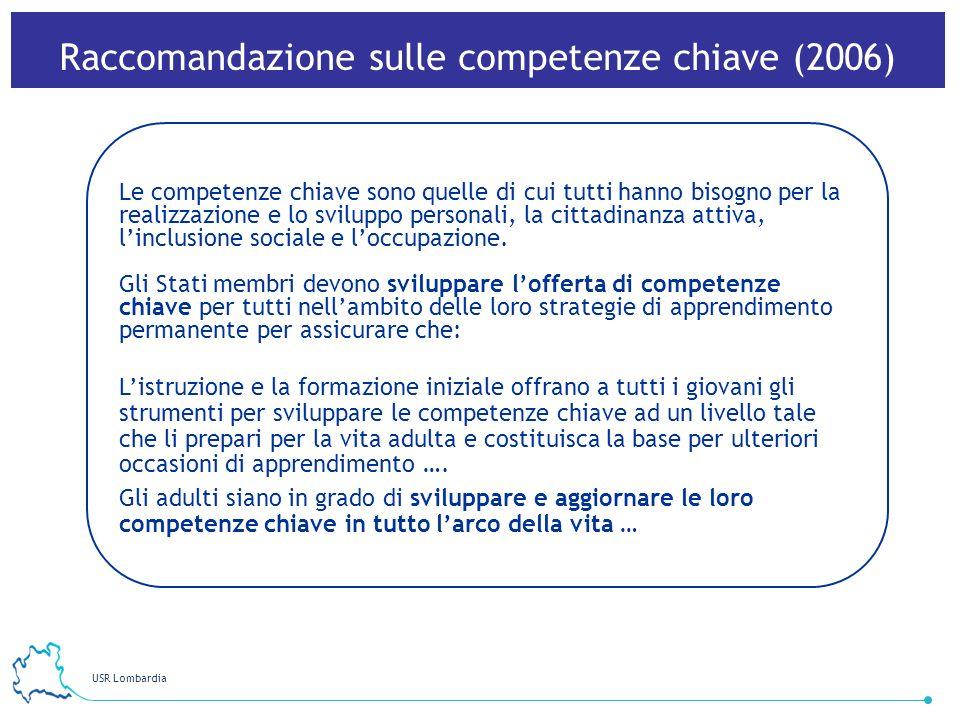 Raccomandazione sulle competenze chiave (2006)