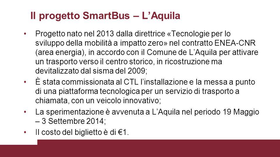 Il progetto SmartBus – L'Aquila