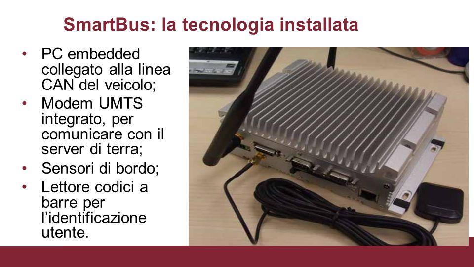 SmartBus: la tecnologia installata