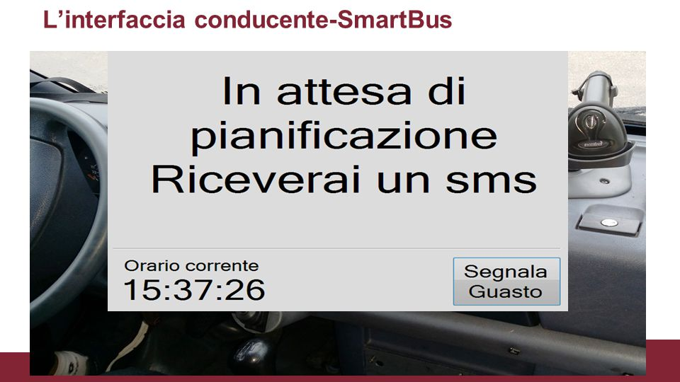 L'interfaccia conducente-SmartBus