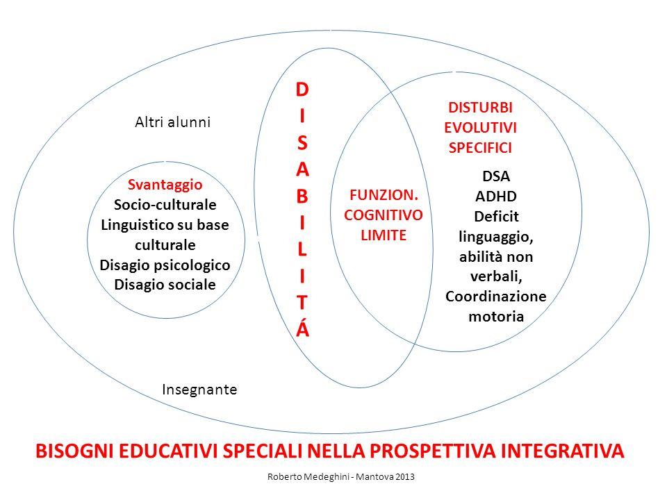 BISOGNI EDUCATIVI SPECIALI NELLA PROSPETTIVA INTEGRATIVA