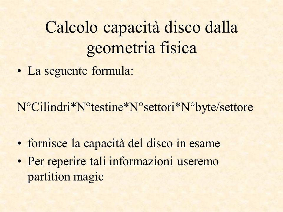 Calcolo capacità disco dalla geometria fisica