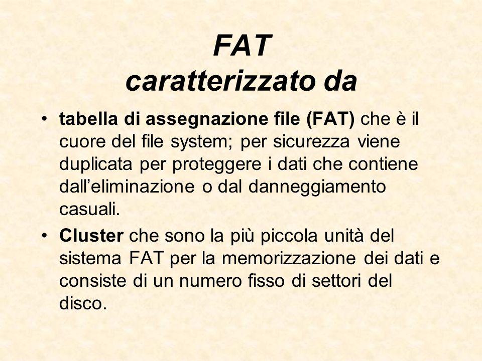 FAT caratterizzato da