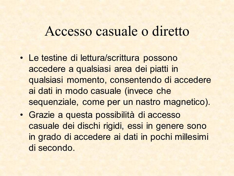 Accesso casuale o diretto