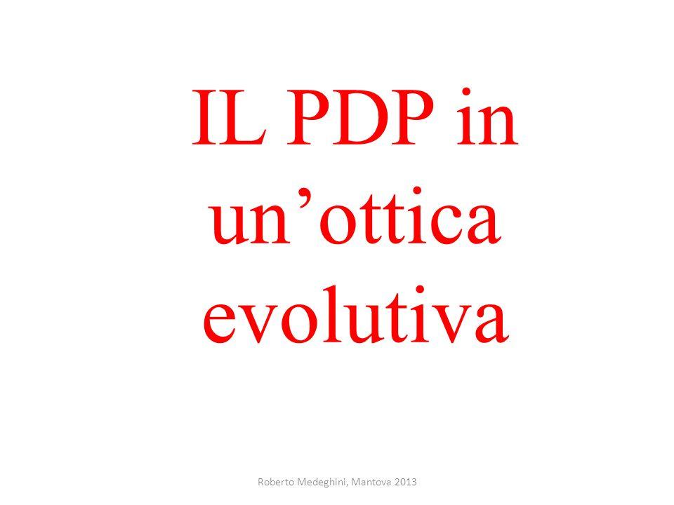 IL PDP in un'ottica evolutiva