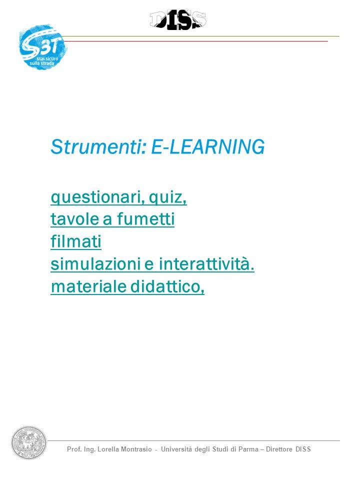 Strumenti: E-LEARNING