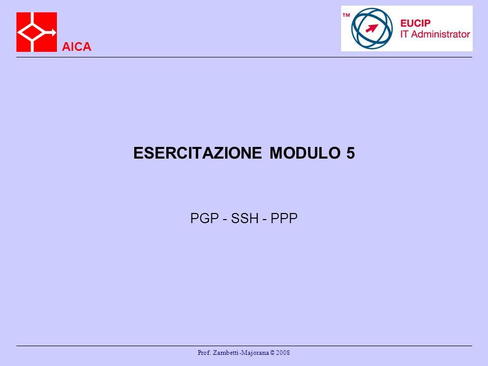 Prof. Zambetti -Majorana © 2008