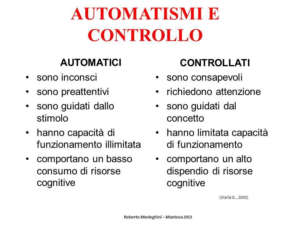AUTOMATISMI E CONTROLLO
