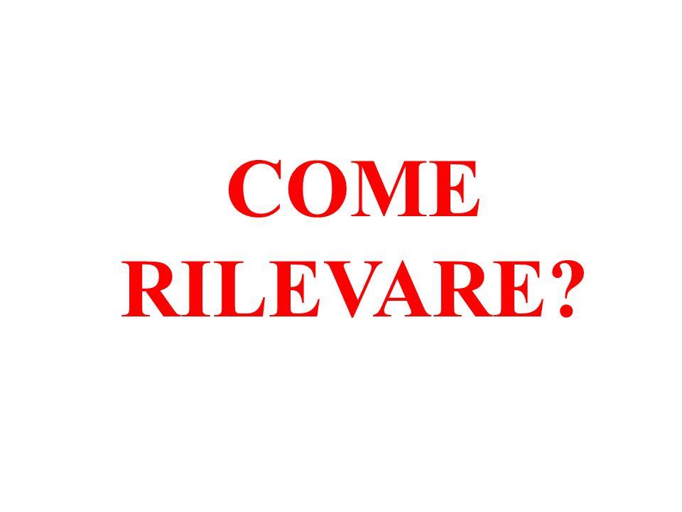 COME RILEVARE