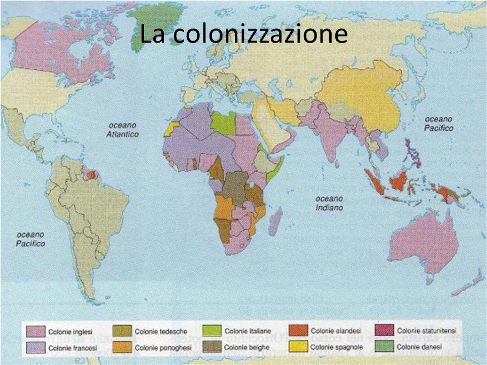 La colonizzazione