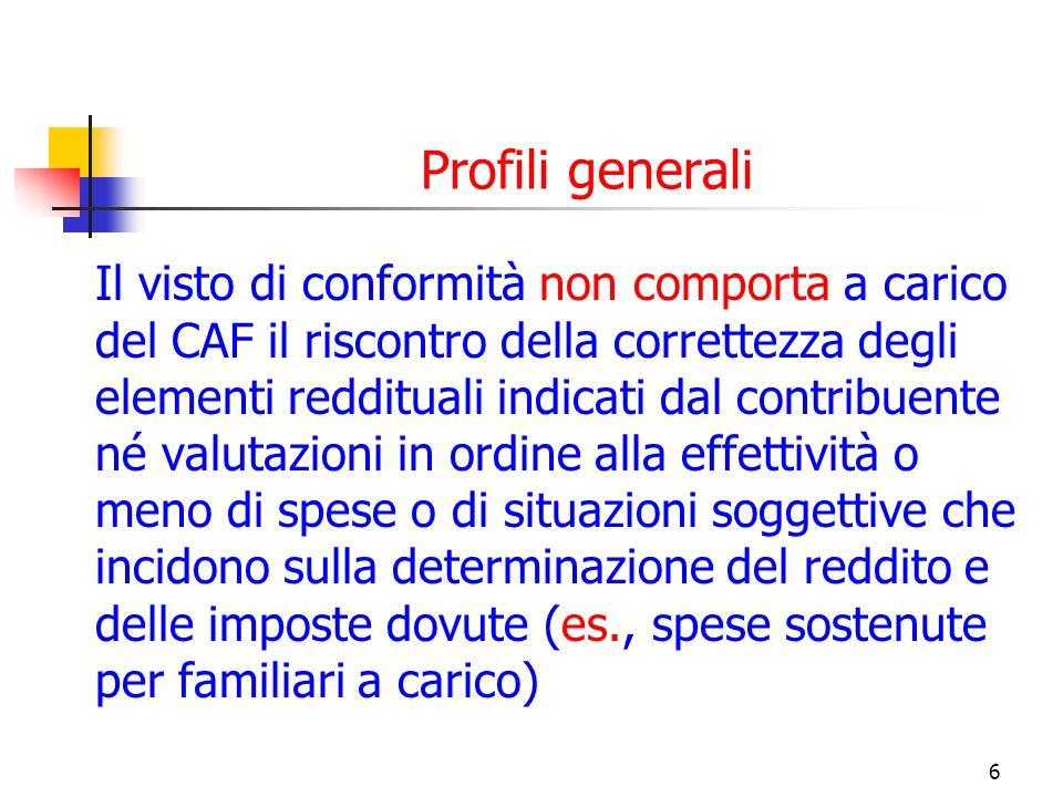 Profili generali