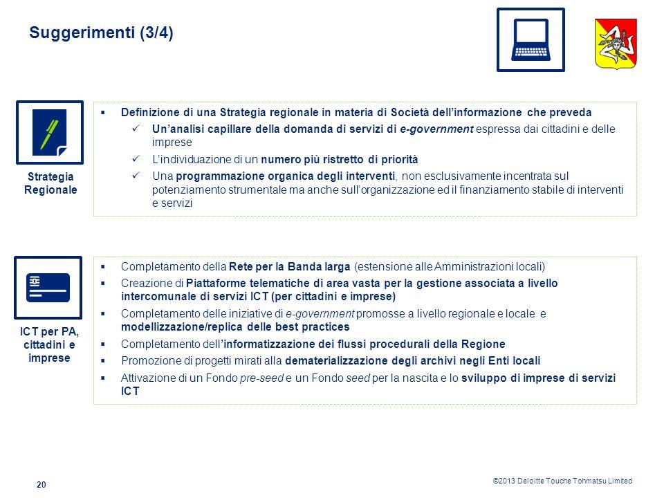 ICT per PA, cittadini e imprese