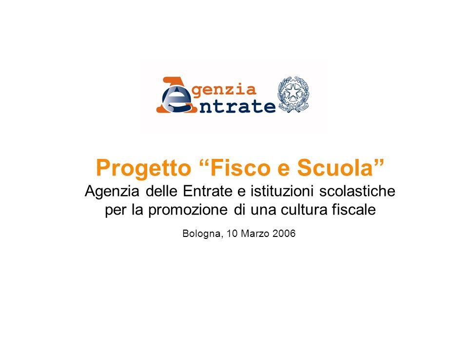 Progetto Fisco e Scuola