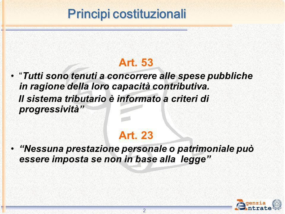 Principi costituzionali