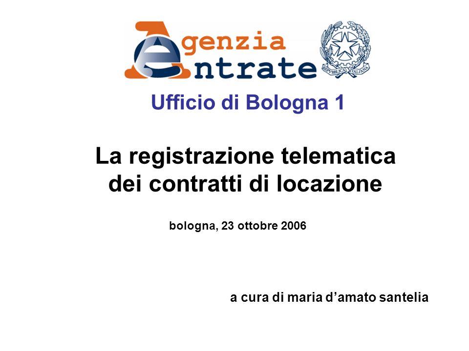 La registrazione telematica dei contratti di locazione