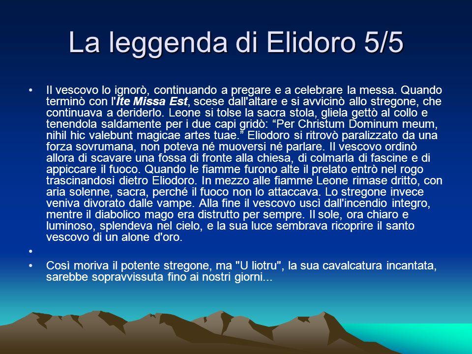 La leggenda di Elidoro 5/5