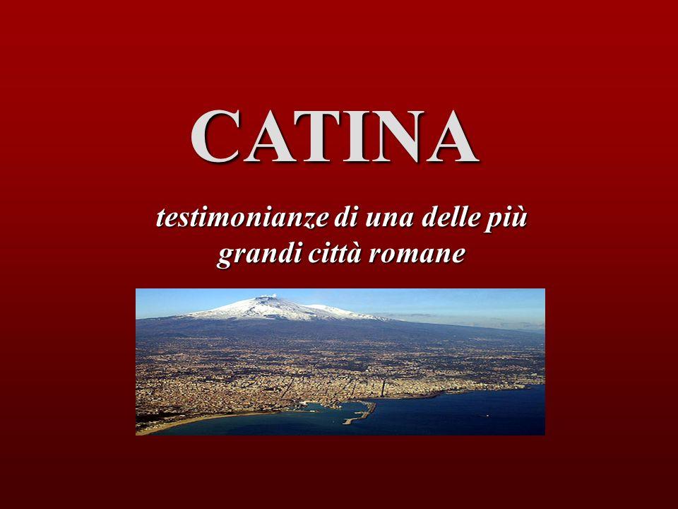 testimonianze di una delle più grandi città romane