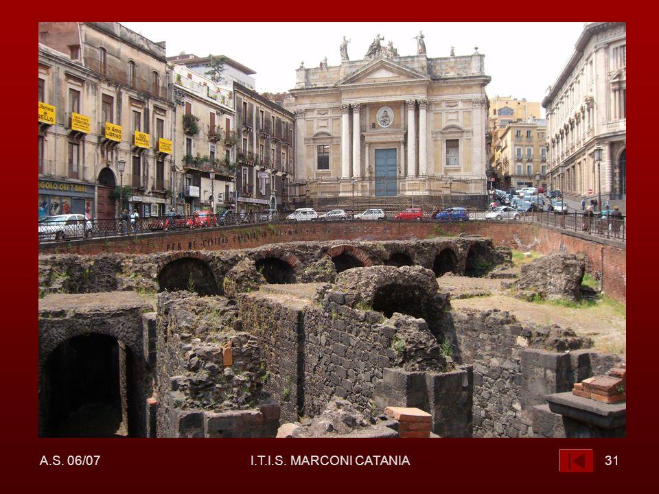 A.S. 06/07 I.T.I.S. MARCONI CATANIA