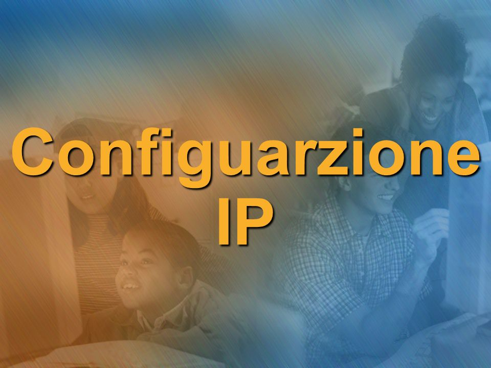 Configuarzione IP