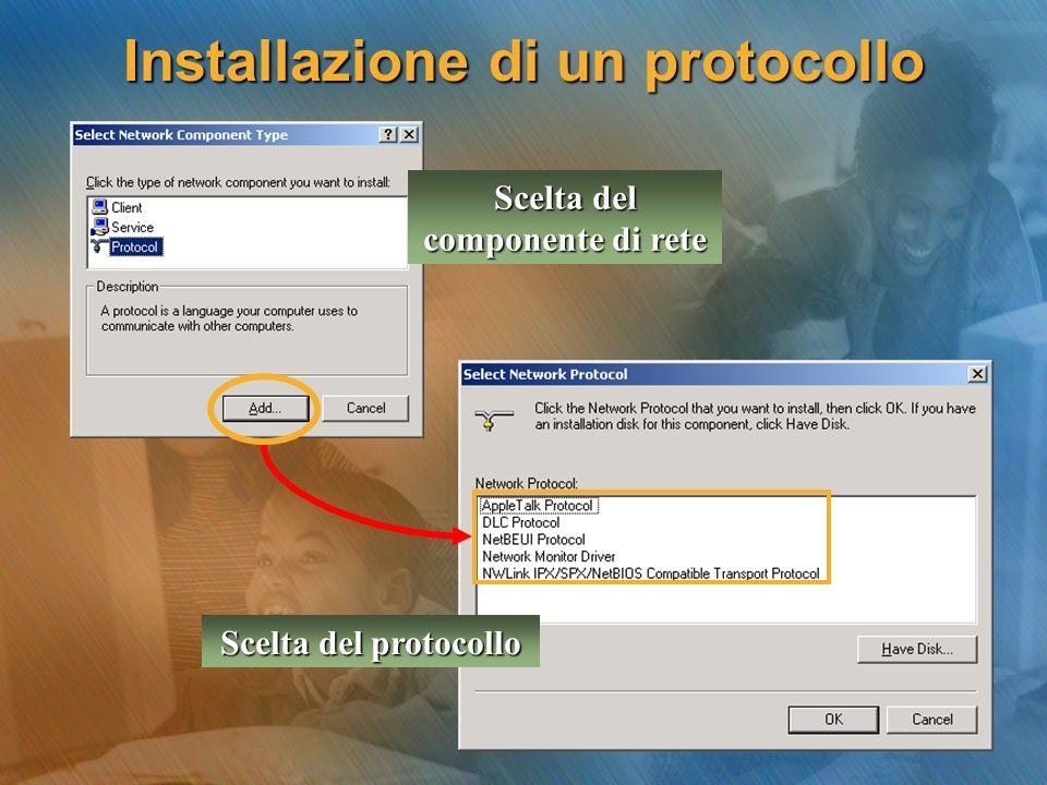 Installazione di un protocollo
