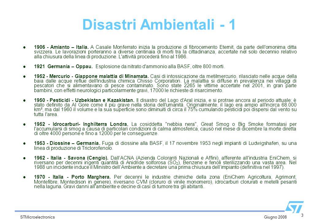 Disastri Ambientali - 1
