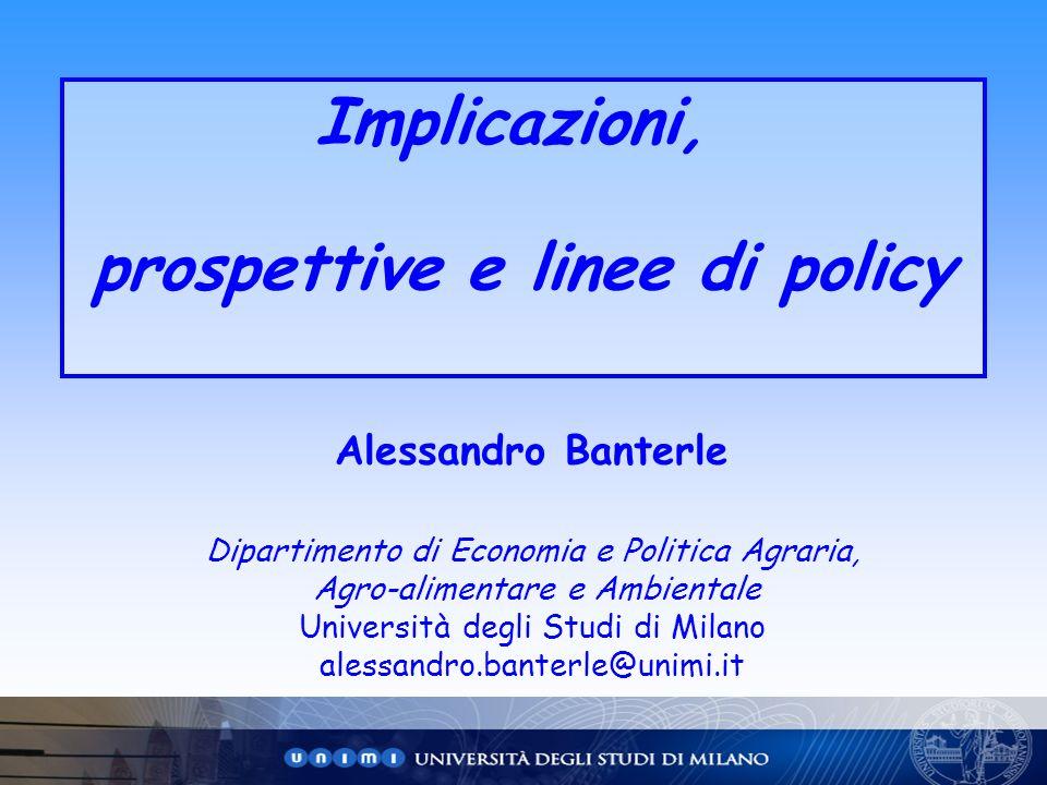 prospettive e linee di policy