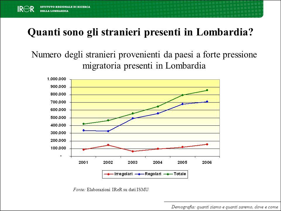 Quanti sono gli stranieri presenti in Lombardia