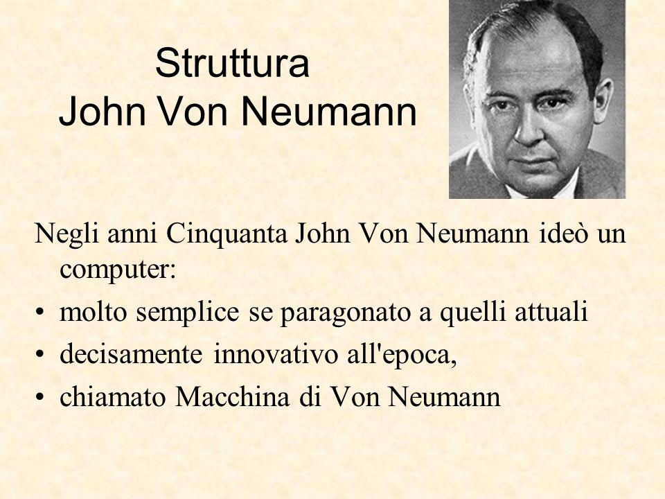 Struttura John Von Neumann