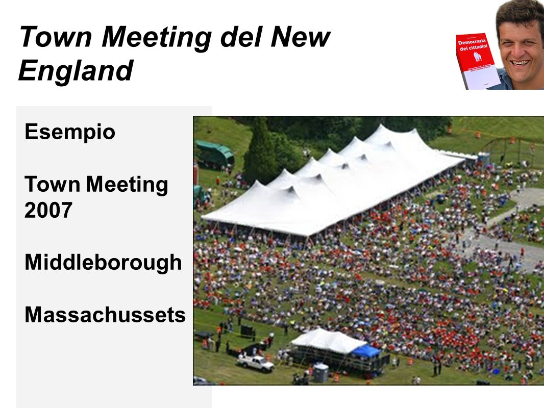 Town Meeting del New England