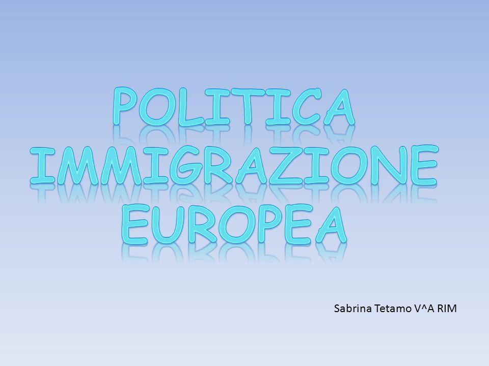 POLITICA IMMIGRAZIONE