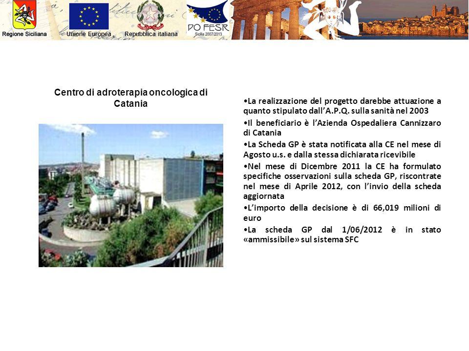 Centro di adroterapia oncologica di Catania