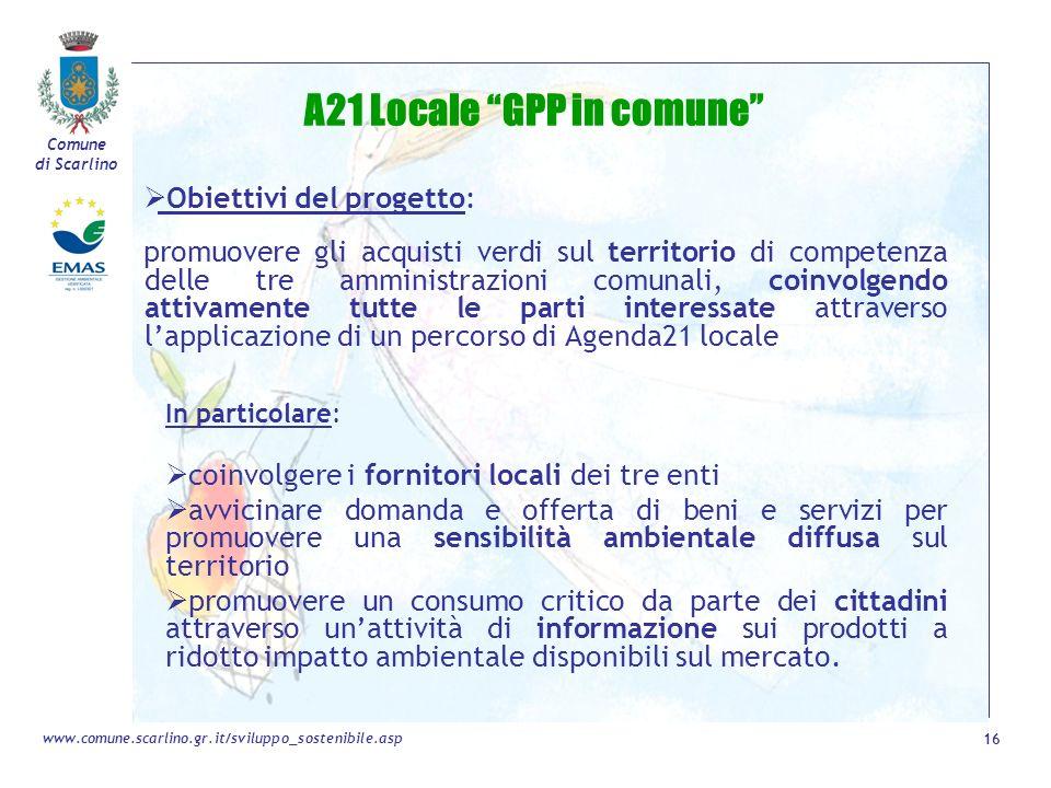 A21 Locale GPP in comune