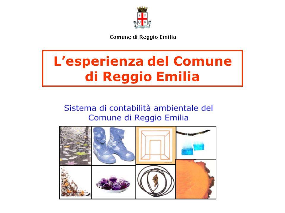 L'esperienza del Comune di Reggio Emilia
