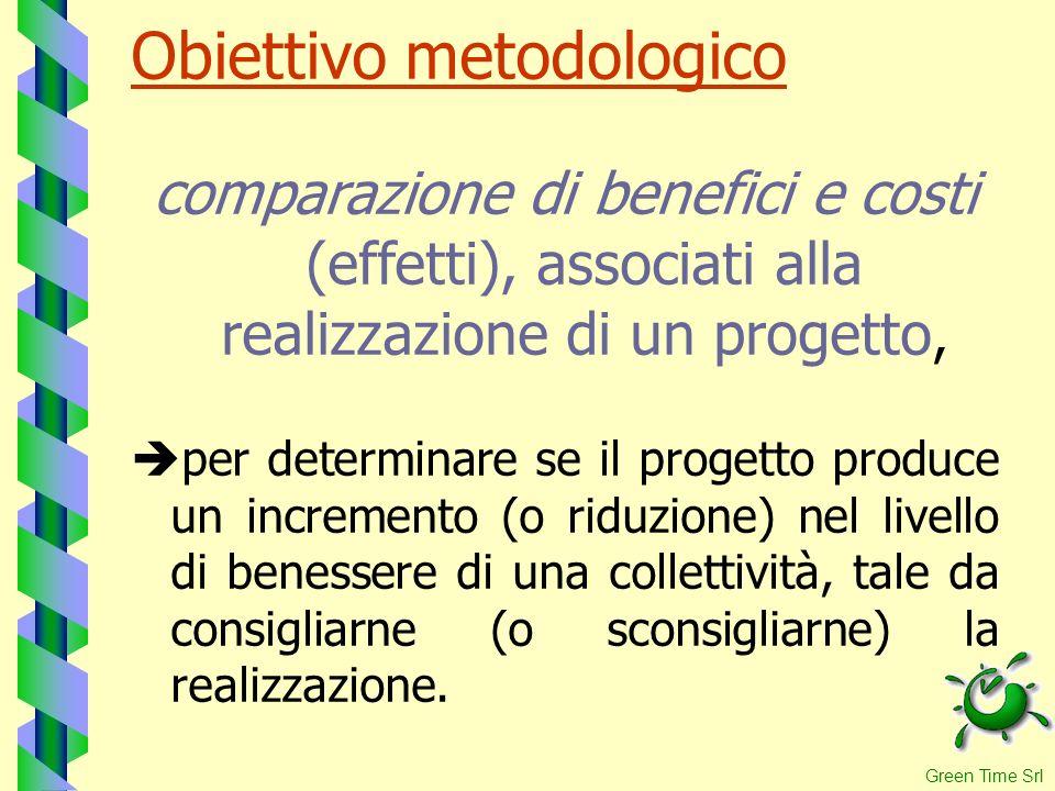 Obiettivo metodologico