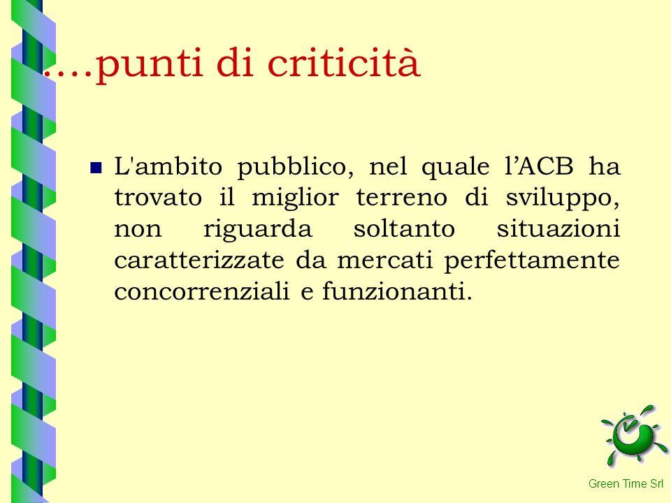 ….punti di criticità