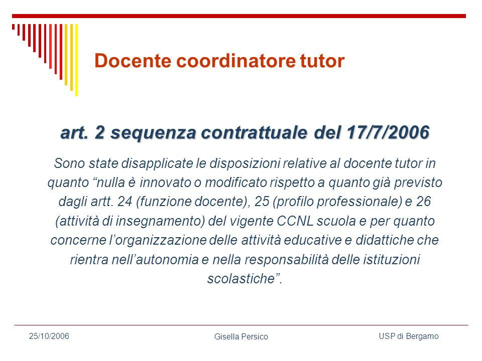 art. 2 sequenza contrattuale del 17/7/2006