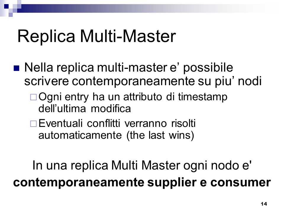 contemporaneamente supplier e consumer