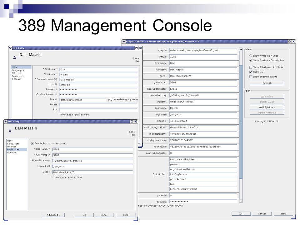 389 Management Console