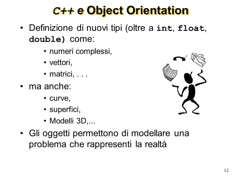 C++ e Object Orientation