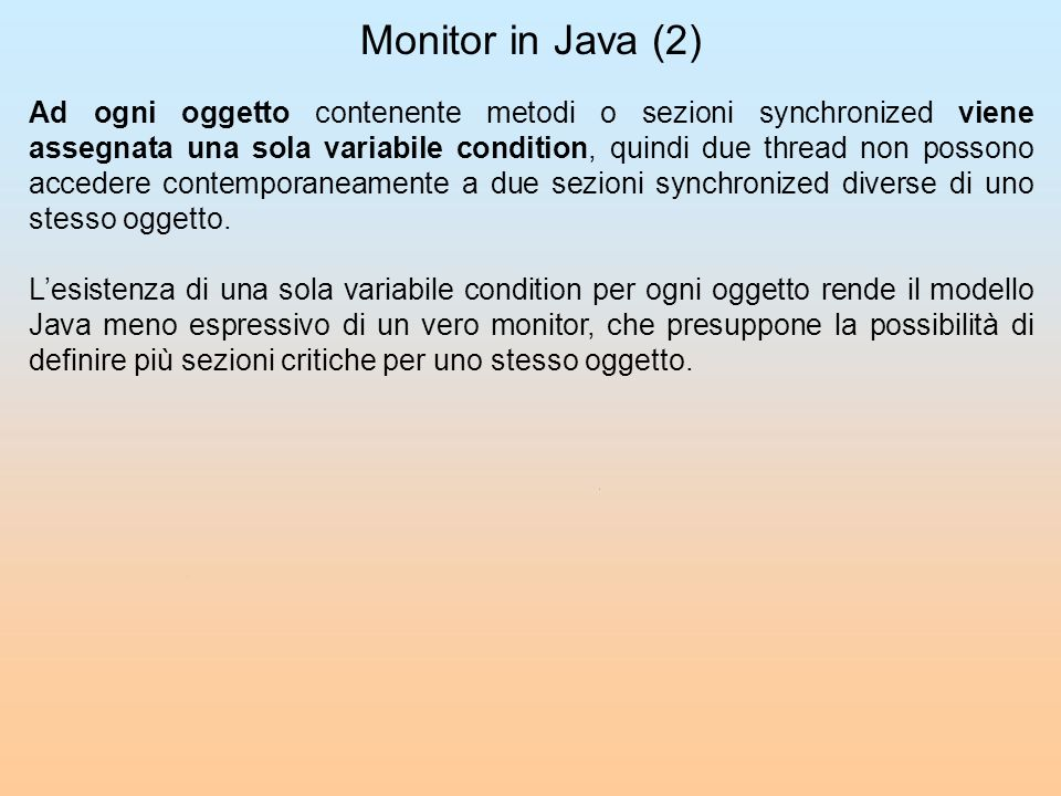 Monitor in Java (2)