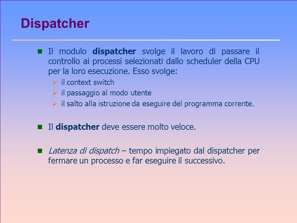 Dispatcher