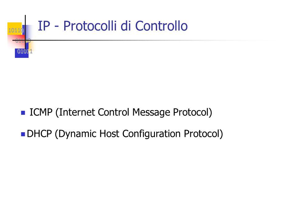 IP - Protocolli di Controllo