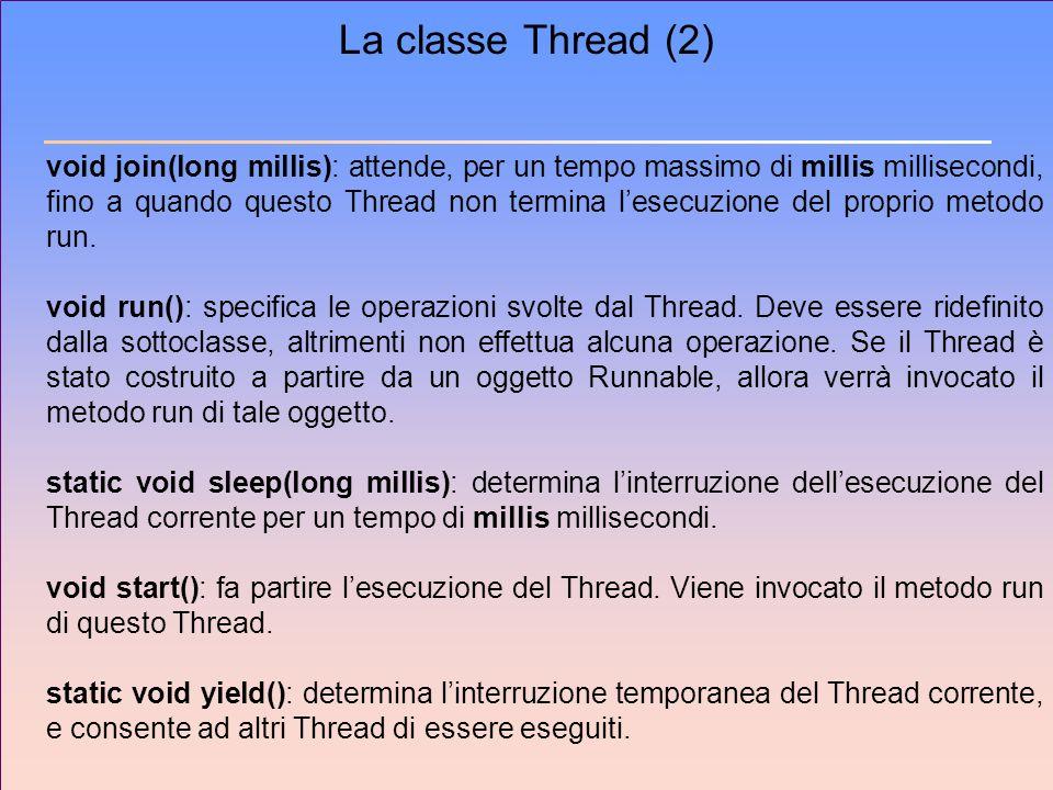 La classe Thread (2)