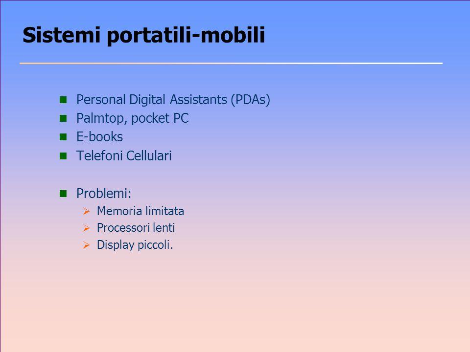 Sistemi portatili-mobili