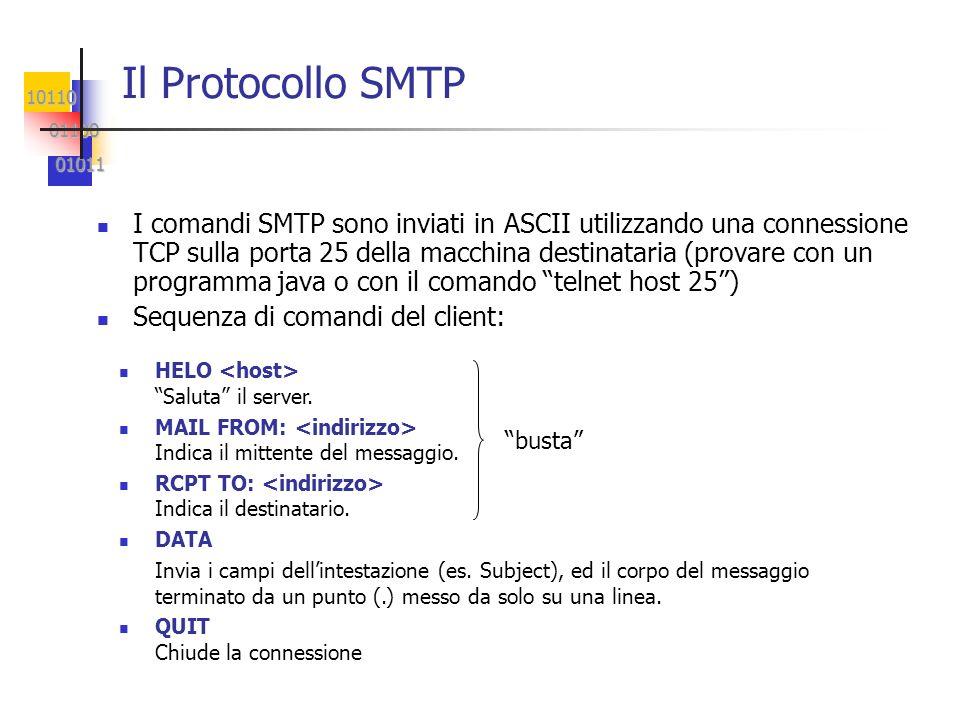 Il Protocollo SMTP