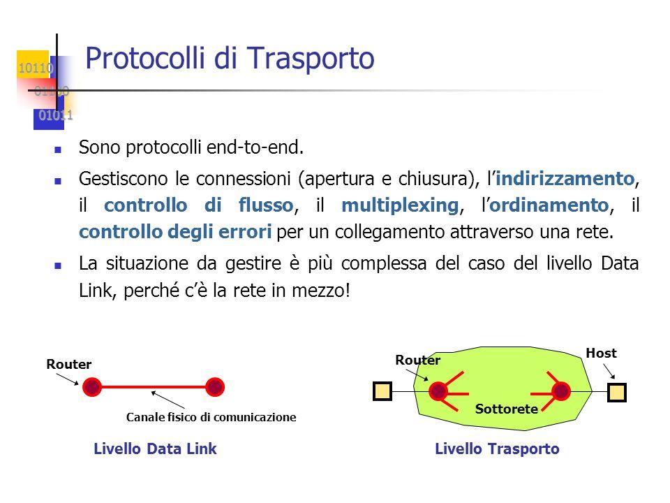 Protocolli di Trasporto
