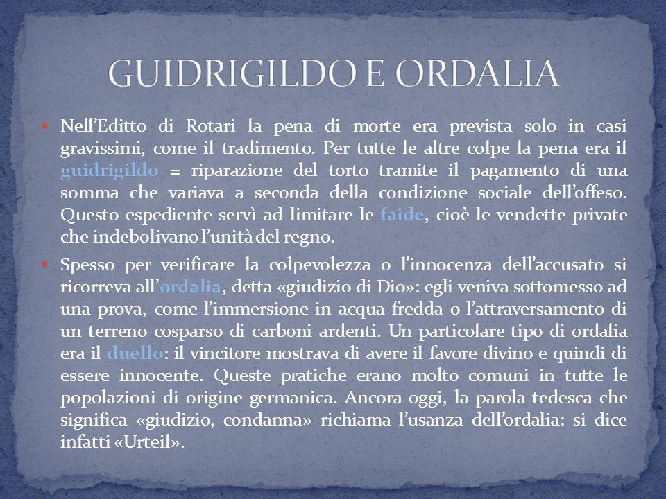GUIDRIGILDO E ORDALIA