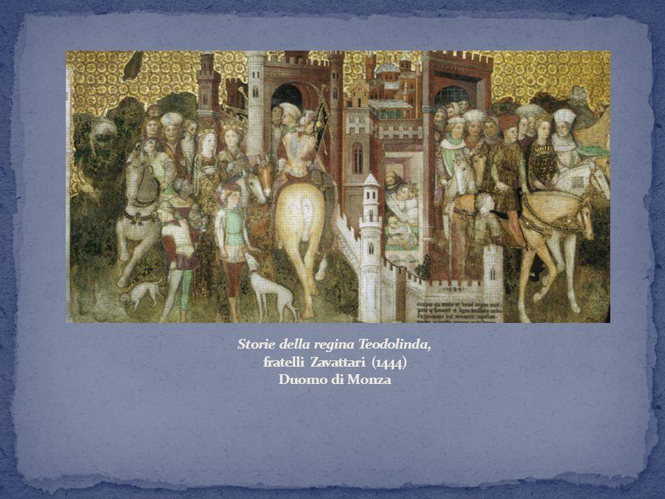 Storie della regina Teodolinda, fratelli Zavattari (1444) Duomo di Monza